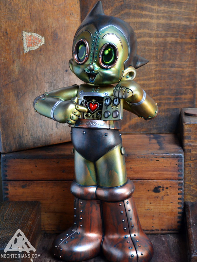 Clockwork Atom Mechtorian Astro Boy figure by Doktor A.