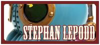 Stephan LePodd Mechtorian vinyl toy by Doktor A.