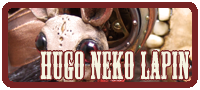 Hugo Neko Lapin Skelve custom by Doktor A and Amanda Louise Spayd