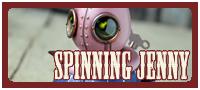 Spinning Jenny mechtorian figure by Doktor A.