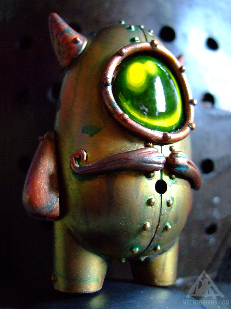 Cymon Clops Mechtorian customised toy by Doktor A.