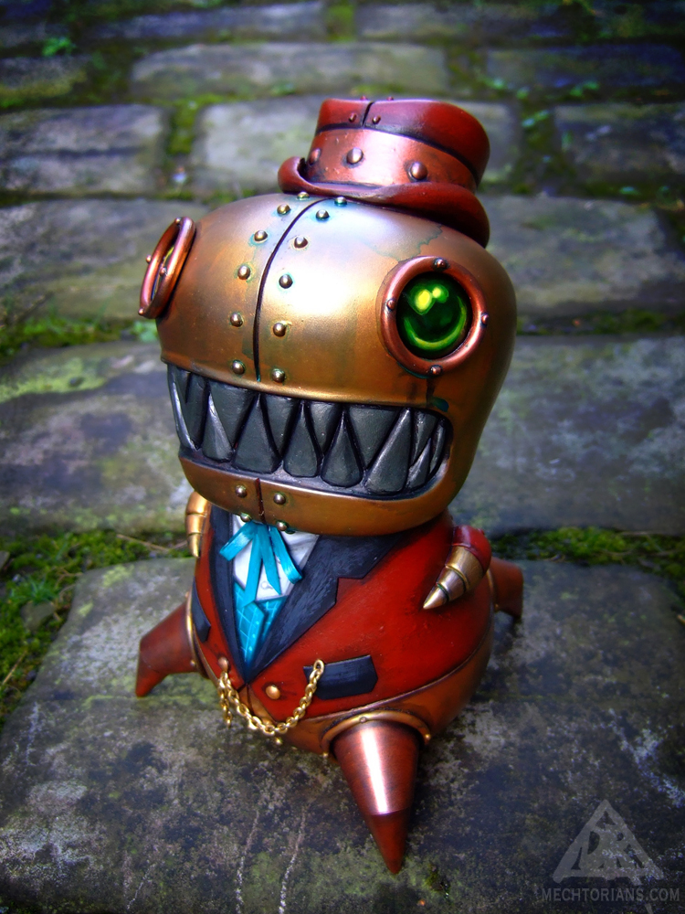 Denton Snark Mechtorian customised toy by Doktor A.