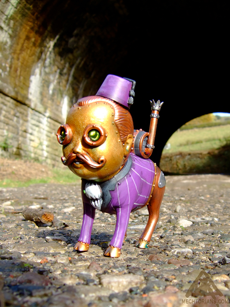 Squire custom toy Mectorian Pig Boy by Doktor A.