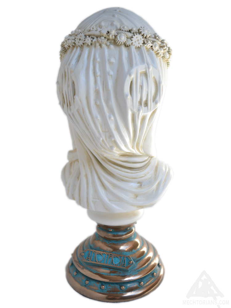 Anesthesia - The Dream Dealer's Daughter Mechtorian sculpture by Doktor A.
