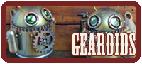 Gearoids Mechtorian customised Android toys by Doktor A.