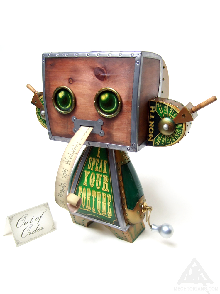 Blavatski & Son's Automated Kismet Disseminator Mechtorian customised toy by Doktor A.