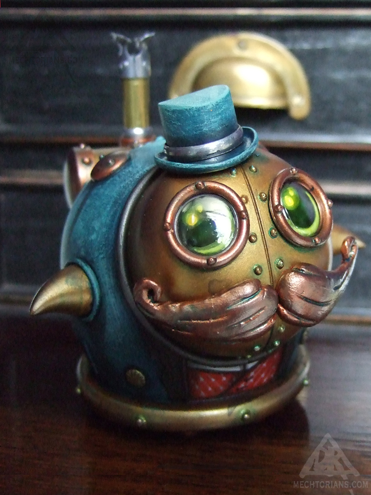 Gregory Lumpling Mechtorian customised toy by Doktor A.