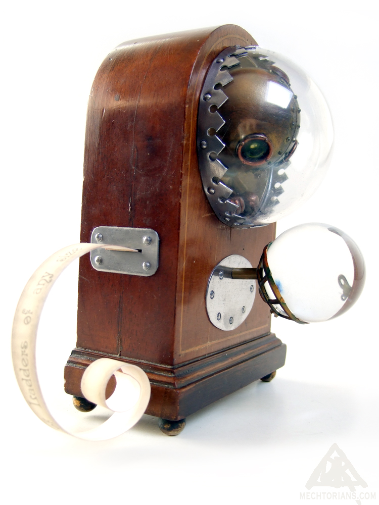 Blavatski & Sons Patented Personal Pocket Divinator Mechtorian sculpture by Doktor A.