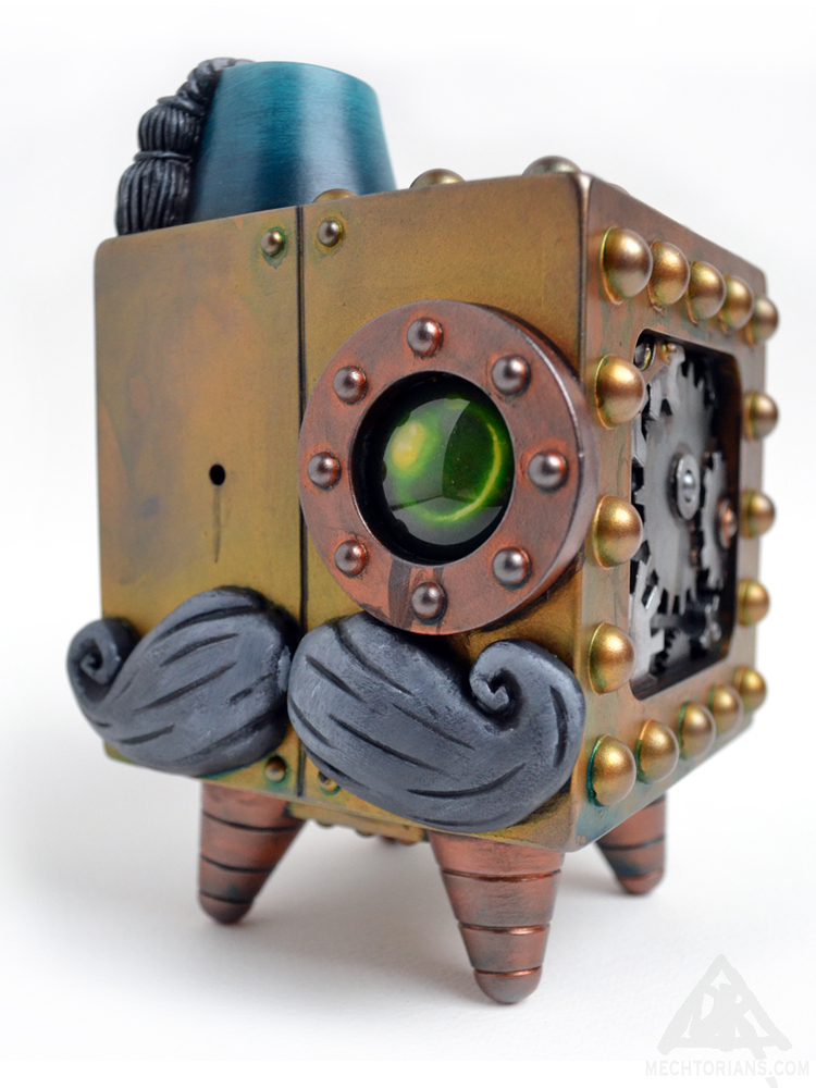 Colonel Rombus Mechtorian figure created by Doktor A