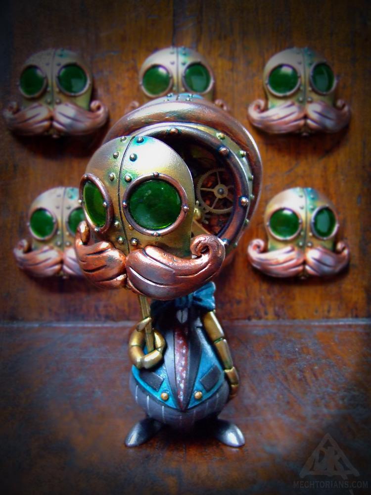 The Stranger Factor Mechtorian customised Skelve by Doktor A.