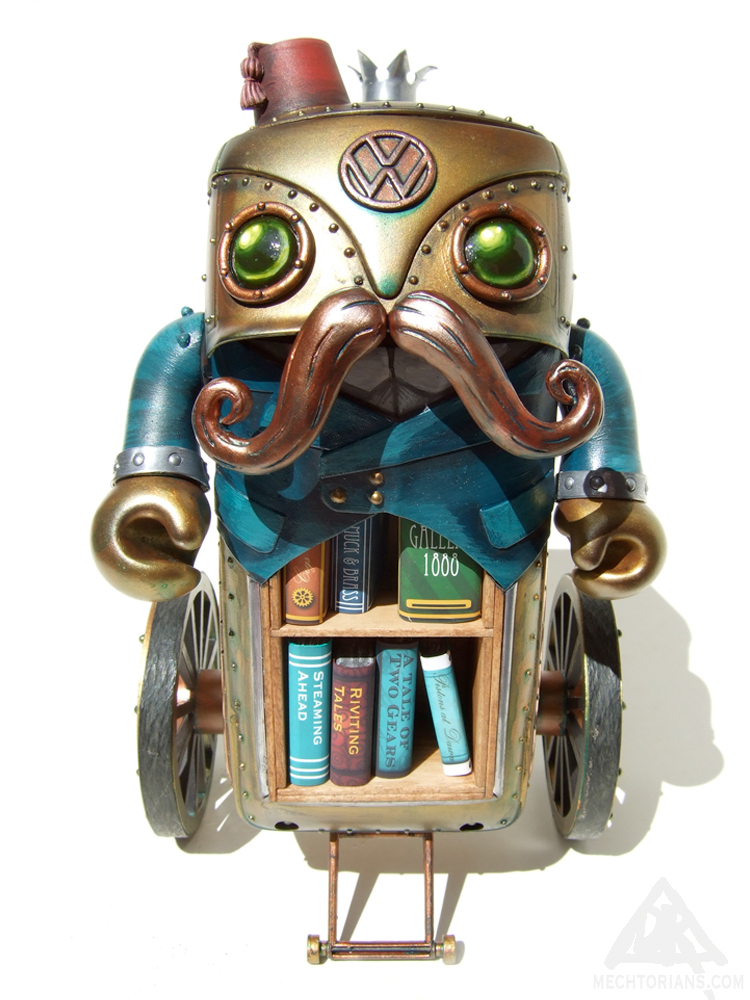 Walter Van Wrental  Mechtorian customised toy by Doktor A.