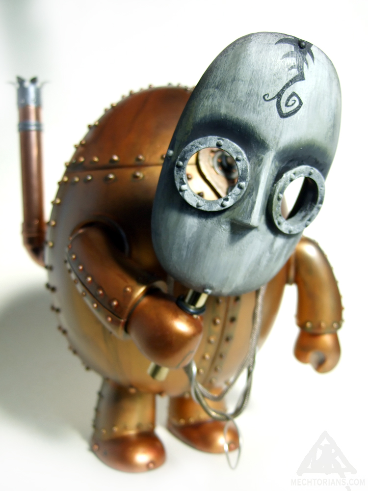 Her Majesties's Eternal Empire Monitor Mechtorian customised toy by Doktor A.