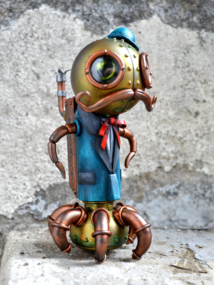 Arthur Winkleman Mechtorian sculpture by Doktor A.