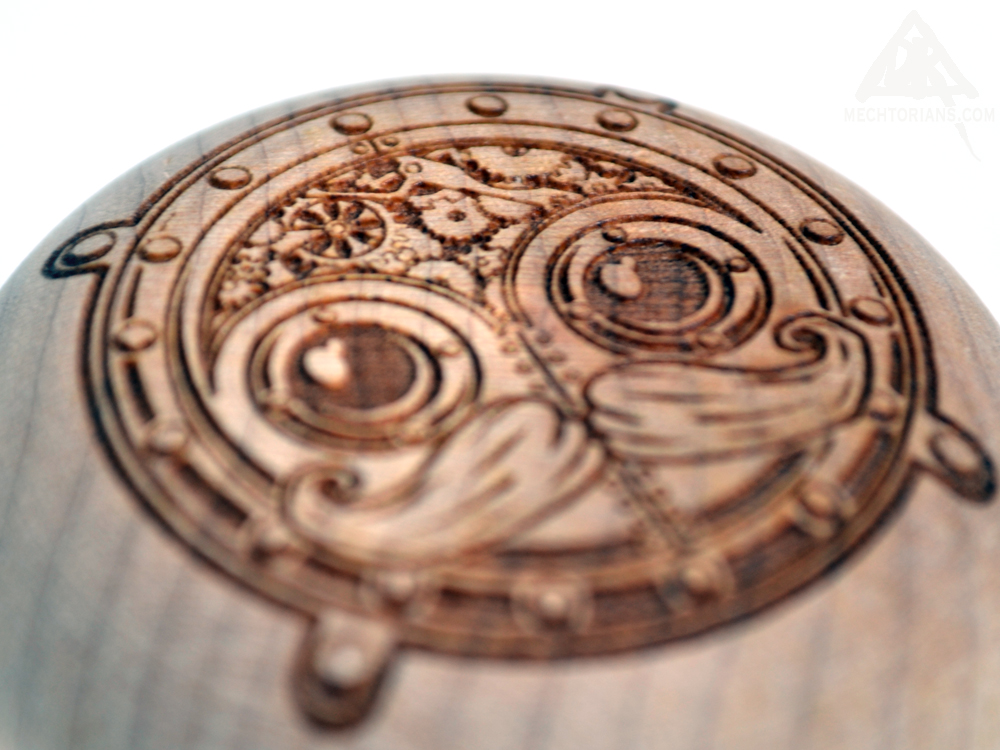 Mechtorian wooden YoYo by Doktor A and Steve Brown Gallery