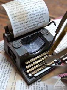 MRJ Blackwood's typewriter.
