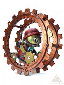 Julias Endless and his Monowheel