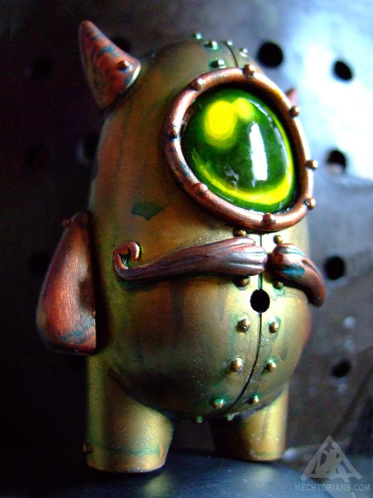Cymon Clops Mechtorian customised toy by Doktor A.
