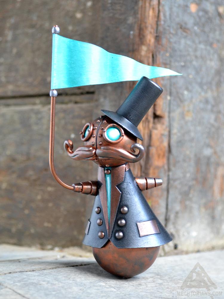 Stanley Flagman Mechtorian sculpture by Doktor A.