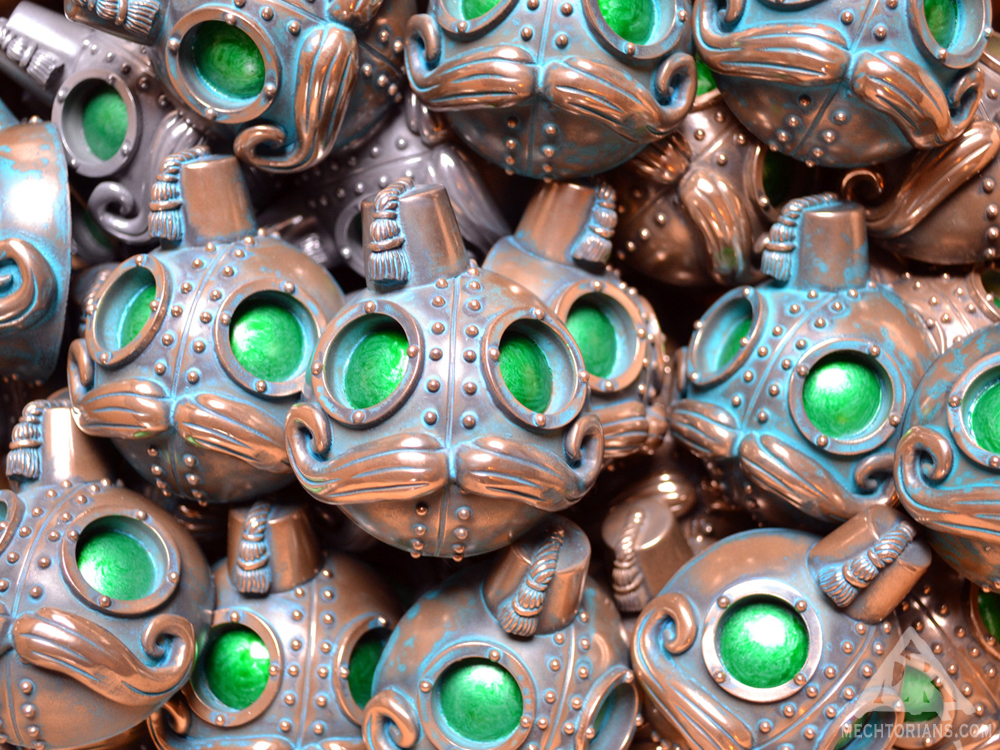 Phizogs Mechtorian resin sculpture by Doktor A.