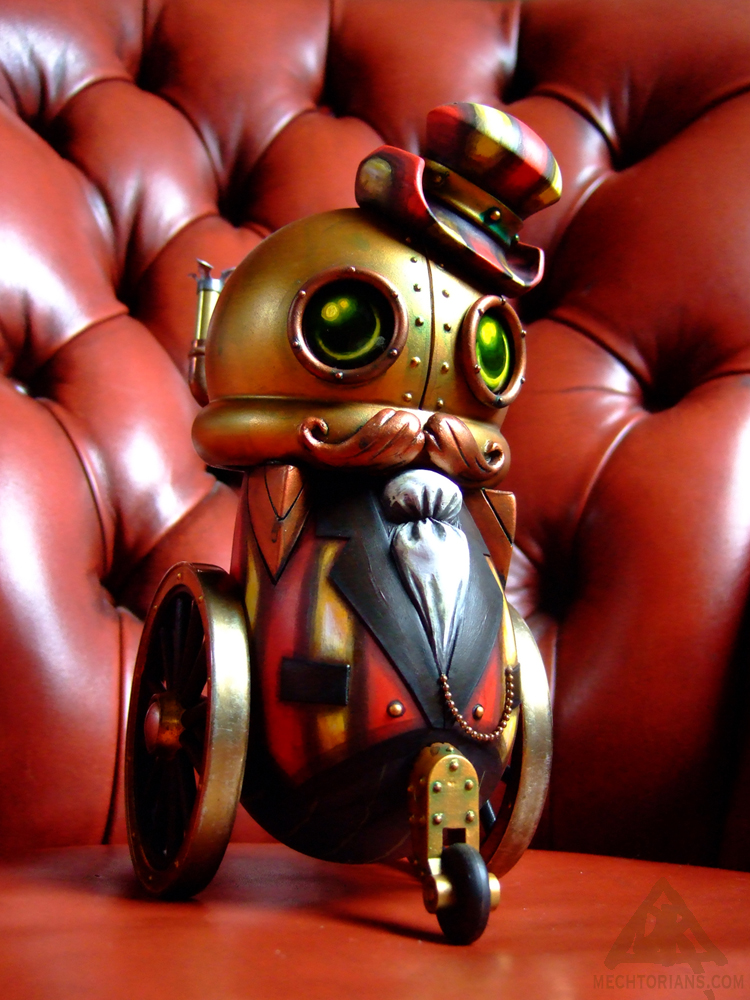 The Ring Master Mechtorian figure by Doktor A.