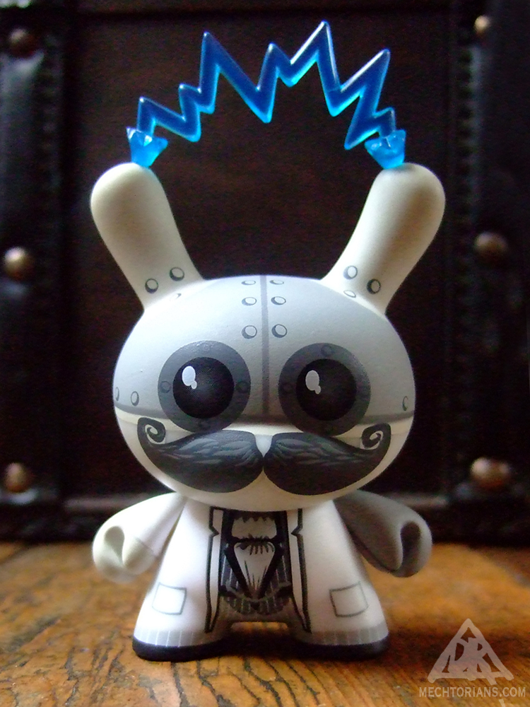 Teslastein Dunny vinyl toy by Kidrobot and Doktor A.