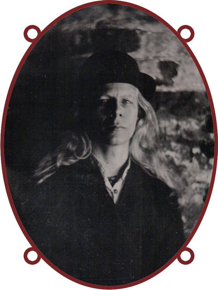 Doktor A (Bruce Whistlecraft) Creator of the Mechtorians. Tintype image by Michele Selway