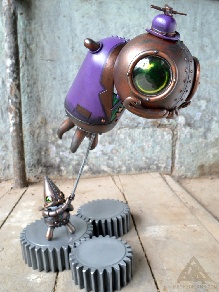 Arthur Blimplington Mechtorian custom toy by Doktor A.