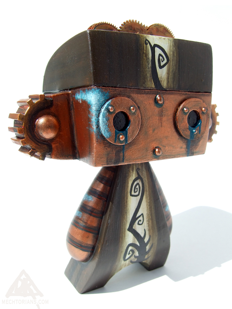 HeadgearMechtorian customised Madl toy by Doktor A.