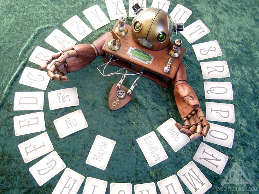Blavatski & Sons Automatic Medium - Seance EngineMechtorian sculpture by Doktor A.