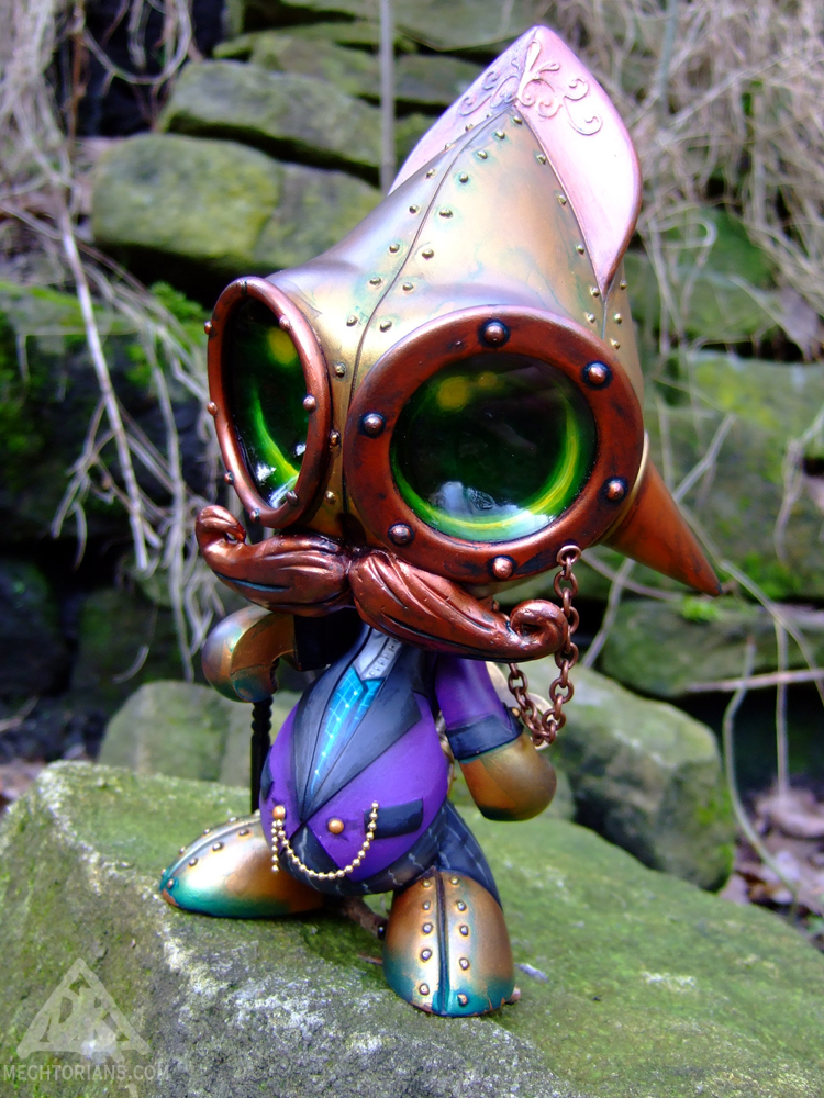 Rodney Aloysius Spencer Mechtorian customised Squidkids toy by Doktor A.