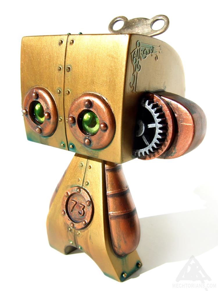 Unit 73 Mechtorian customised Madl toy by Doktor A.