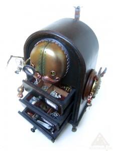 Lester Molesworthy, robotic fixer, mender and handyman.