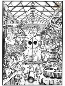 T' Mill - The Factory Floor.