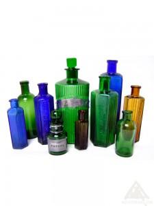 Vintage Poison bottles.