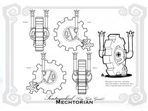 SentryWheel blueprint