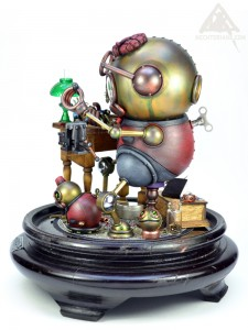 Sebastian Whittler, robotic toy maker.
